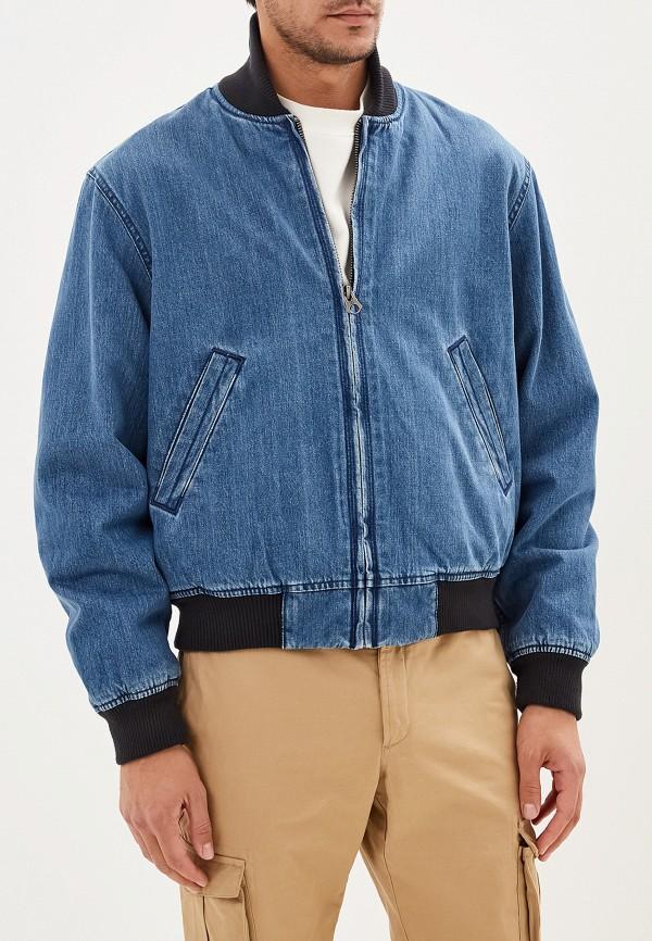 мужская куртка dc shoes, синяя