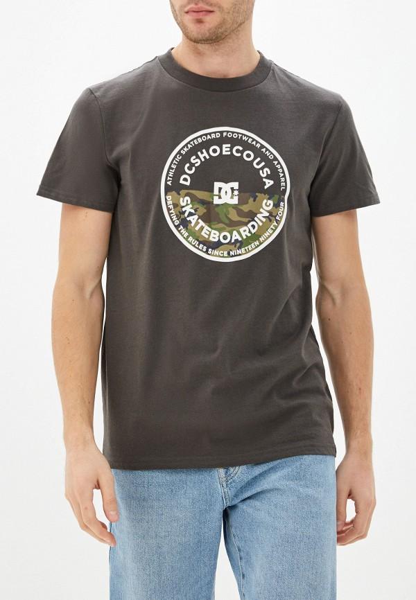 мужская спортивные футболка dc shoes, зеленая