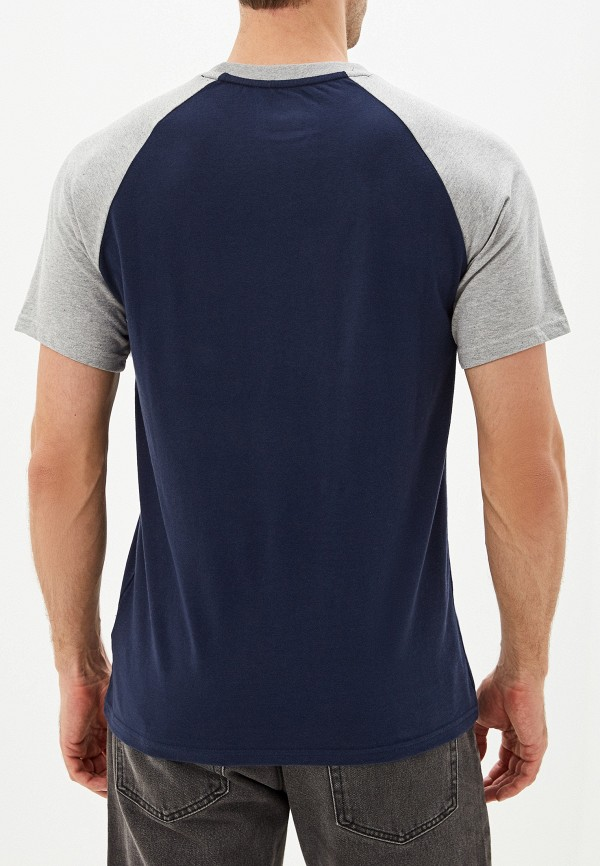 Фото 3 - мужскую футболку DC Shoes синего цвета