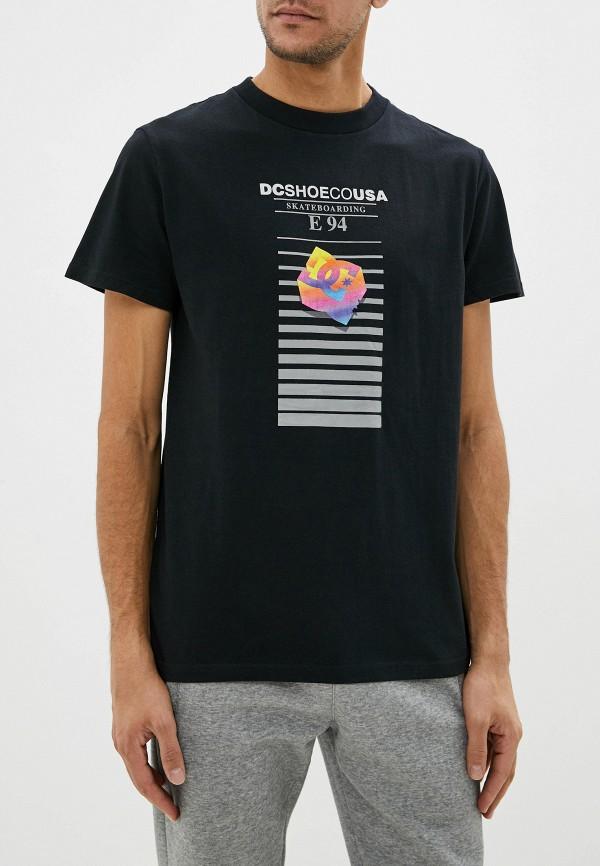 мужская спортивные футболка dc shoes, черная