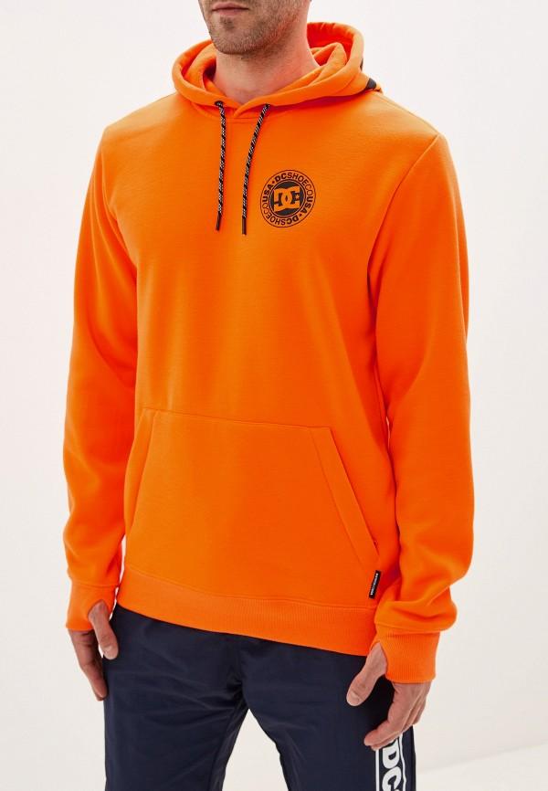 мужские худи dc shoes, оранжевые