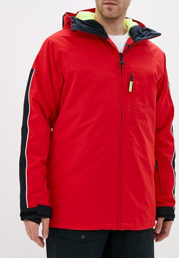 мужская куртка dc shoes, красная