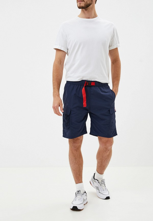 Фото 2 - мужские шорты DC Shoes синего цвета