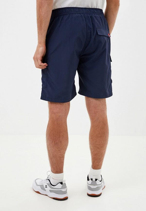 Фото 3 - мужские шорты DC Shoes синего цвета