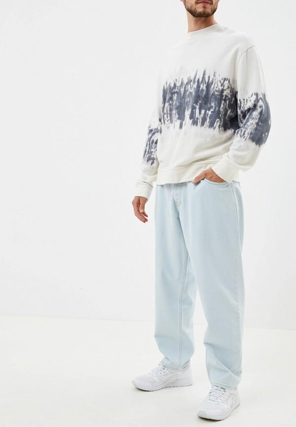 Фото 2 - мужские джинсы DC Shoes голубого цвета