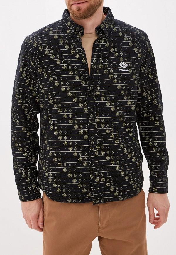 мужская рубашка с длинным рукавом dc shoes, черная