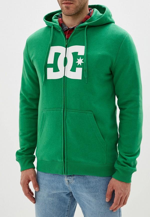 мужская толстовка dc shoes, зеленая