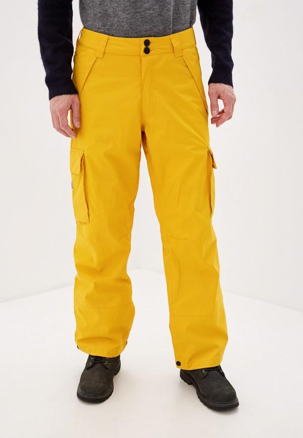 мужские брюки dc shoes, желтые