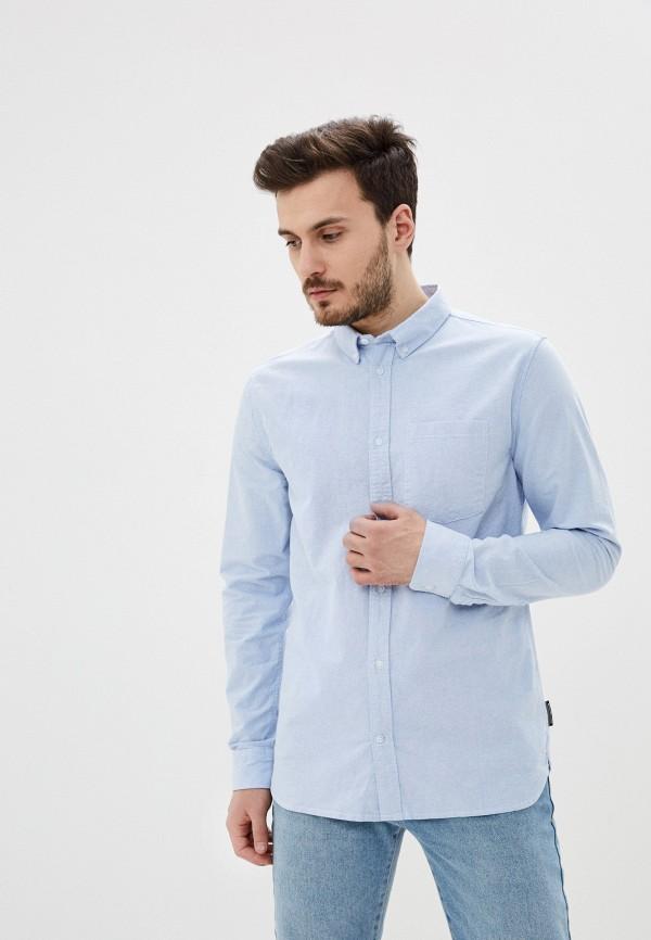 мужская рубашка dc shoes, голубая