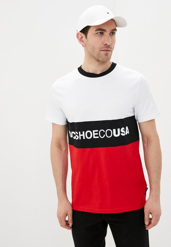мужская спортивные футболка dc shoes, разноцветная