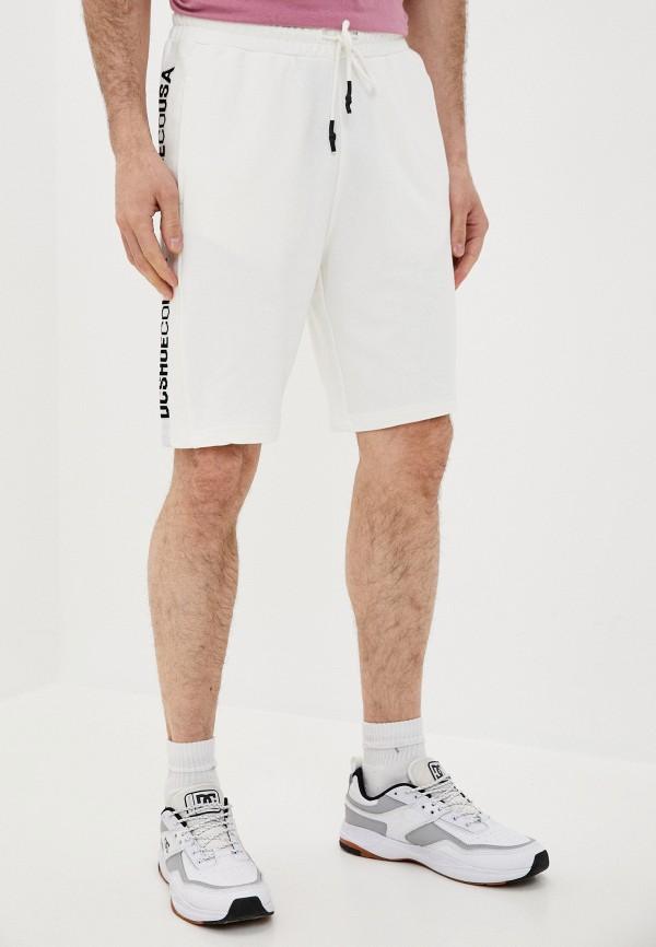 мужские спортивные шорты dc shoes, белые