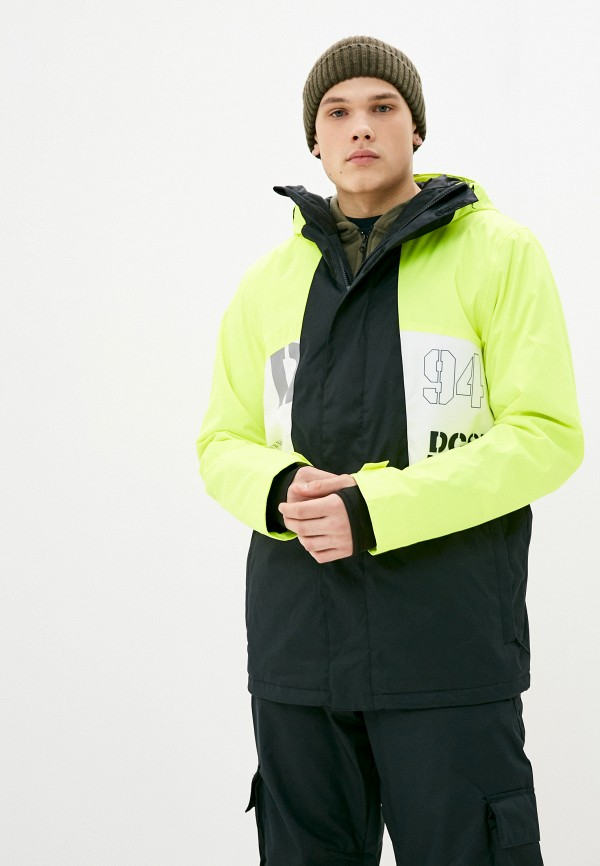 мужская куртка dc shoes, зеленая