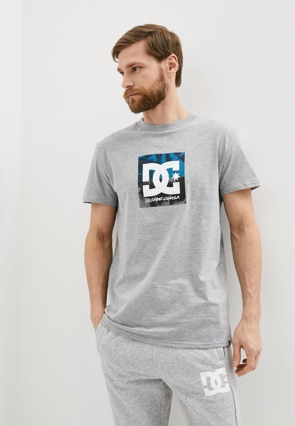 мужская спортивные футболка dc shoes, серая