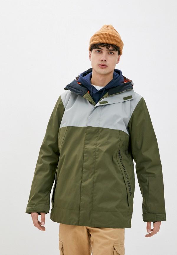 мужская горнолыжные куртка dc shoes, хаки