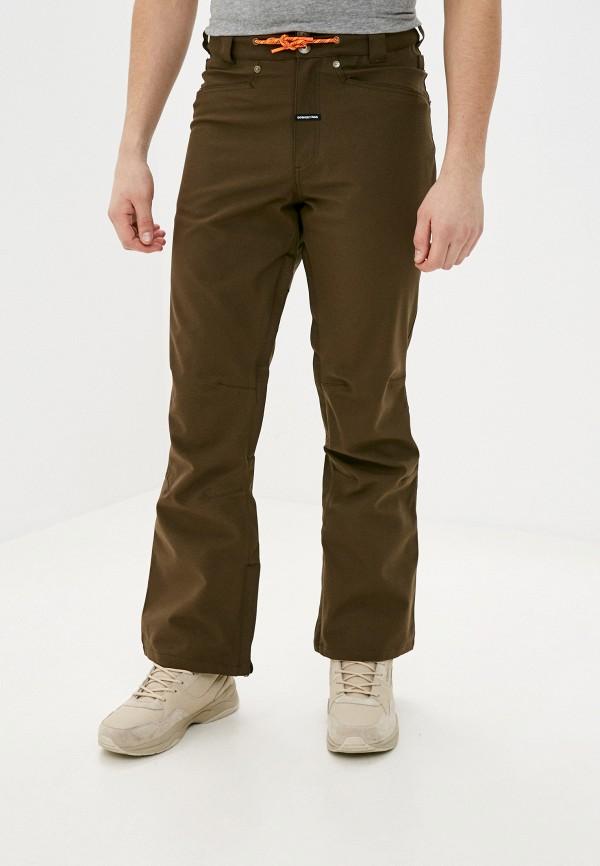 мужские брюки dc shoes, коричневые