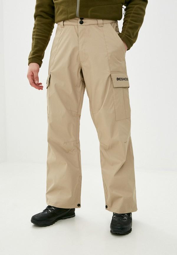 мужские брюки dc shoes, бежевые