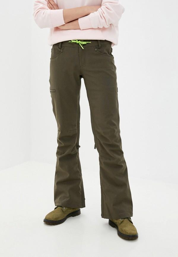 женские брюки dc shoes, хаки
