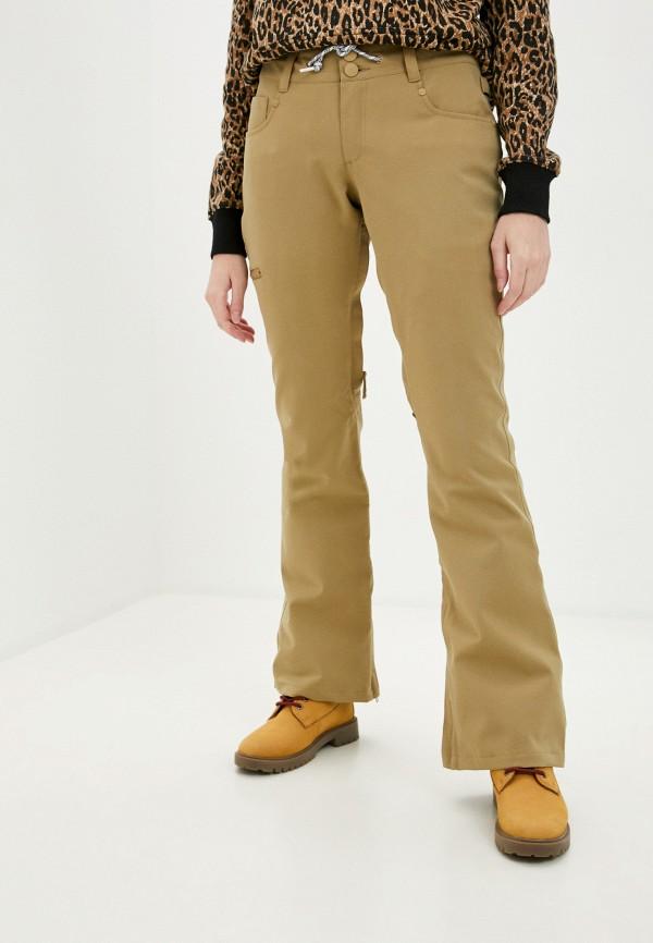 женские брюки dc shoes, бежевые