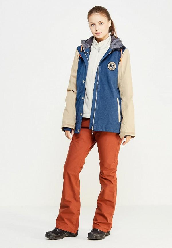 Фото 2 - Куртку горнолыжная DC Shoes синего цвета