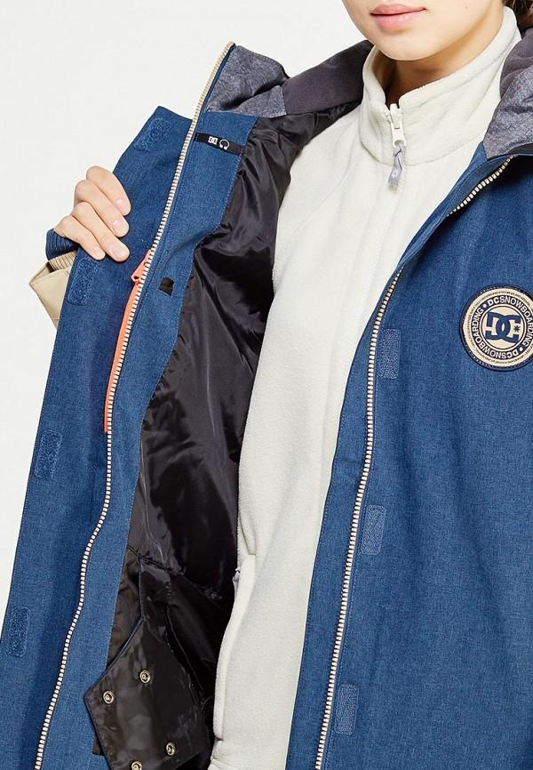 Фото 4 - Куртку горнолыжная DC Shoes синего цвета