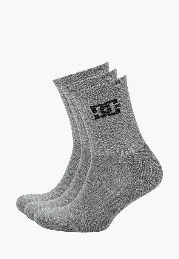 мужские носки dc shoes, серые