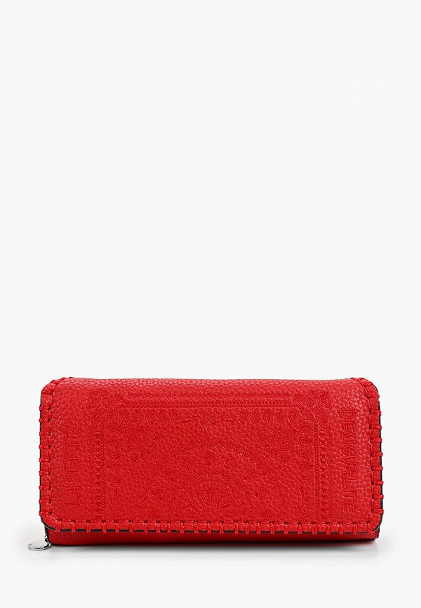 женский кошелёк desigual, красный