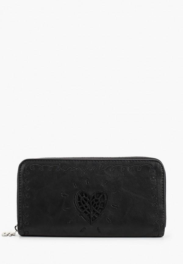 женский кошелёк desigual, черный