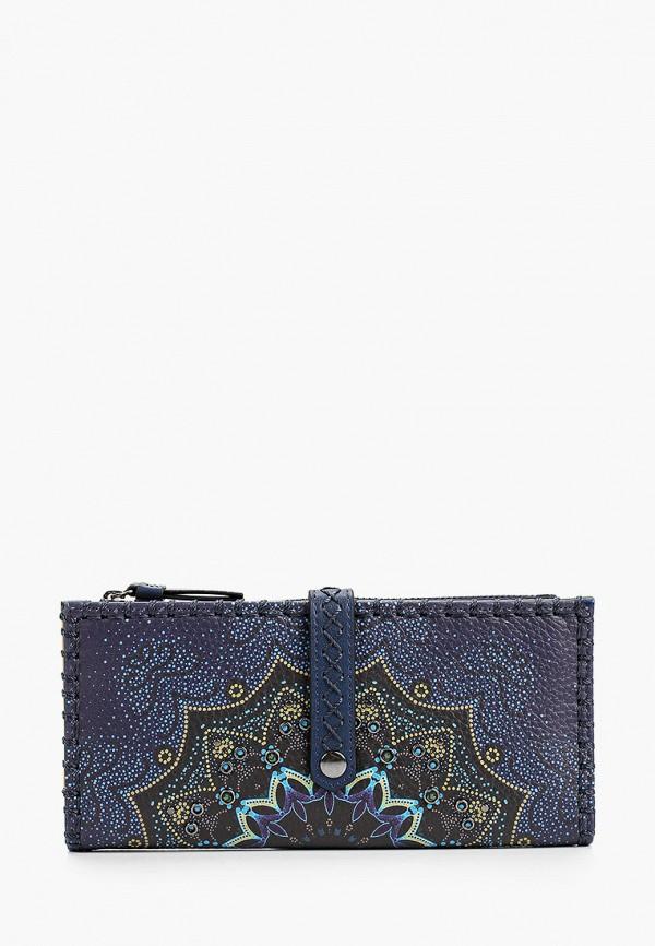 женский кошелёк desigual, синий