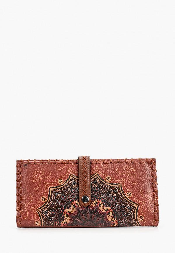 женский кошелёк desigual, разноцветный