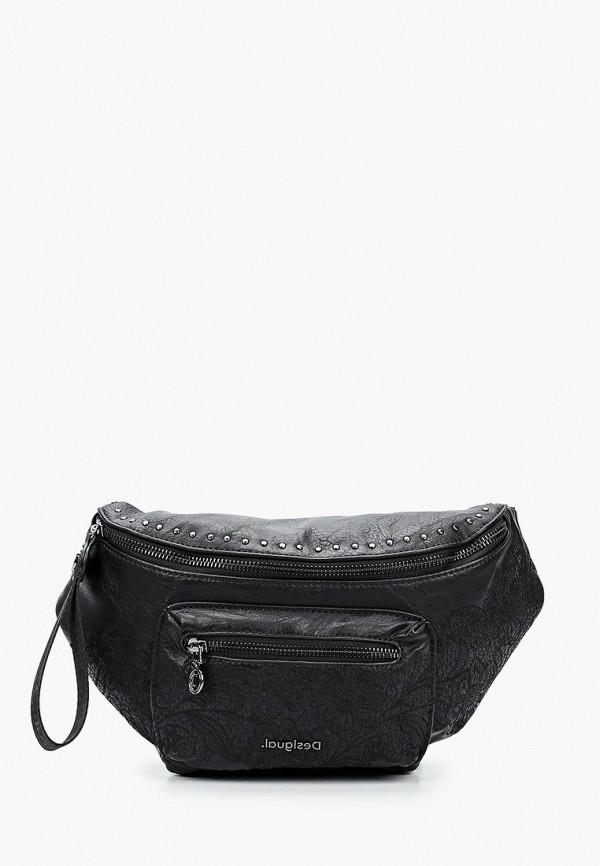 женская поясные сумка desigual, черная
