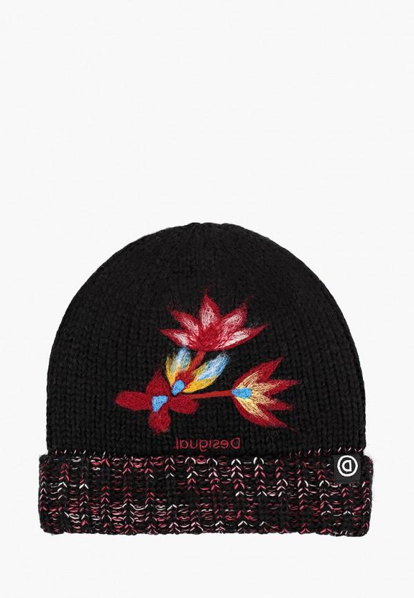 женская шапка desigual