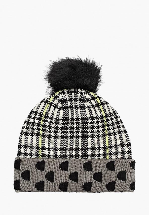 женская шапка desigual, разноцветная