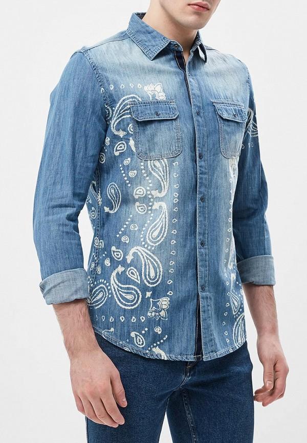 Рубашка джинсовая Desigual Desigual DE002EMABXA4