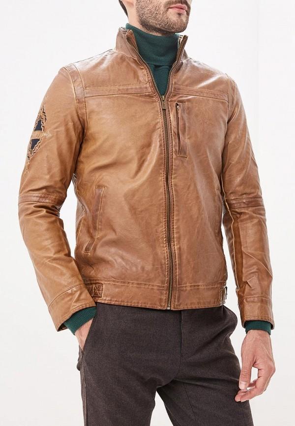 Купить Куртка кожаная Desigual, DE002EMCCBK8, коричневый, Осень-зима 2018/2019