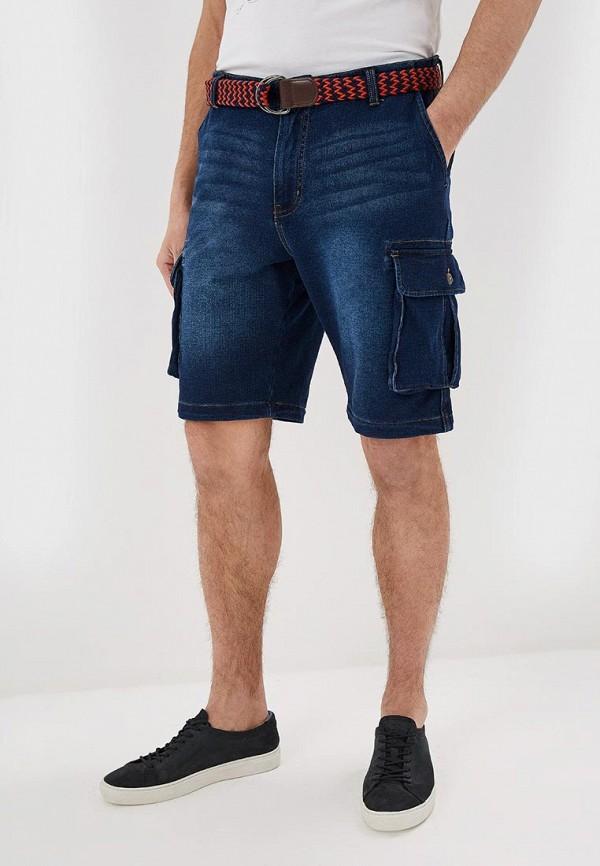 мужские повседневные шорты desigual, синие