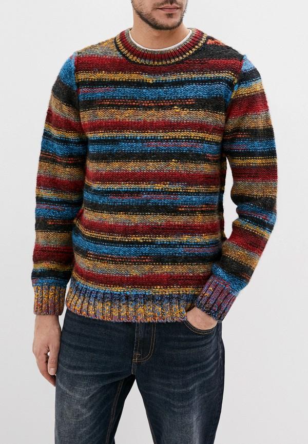 мужской свитер desigual, разноцветный
