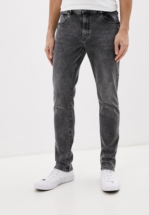 мужские зауженные джинсы desigual, серые