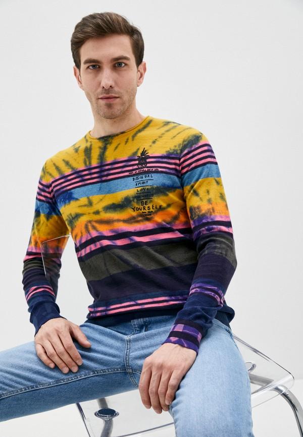 мужской джемпер desigual, разноцветный
