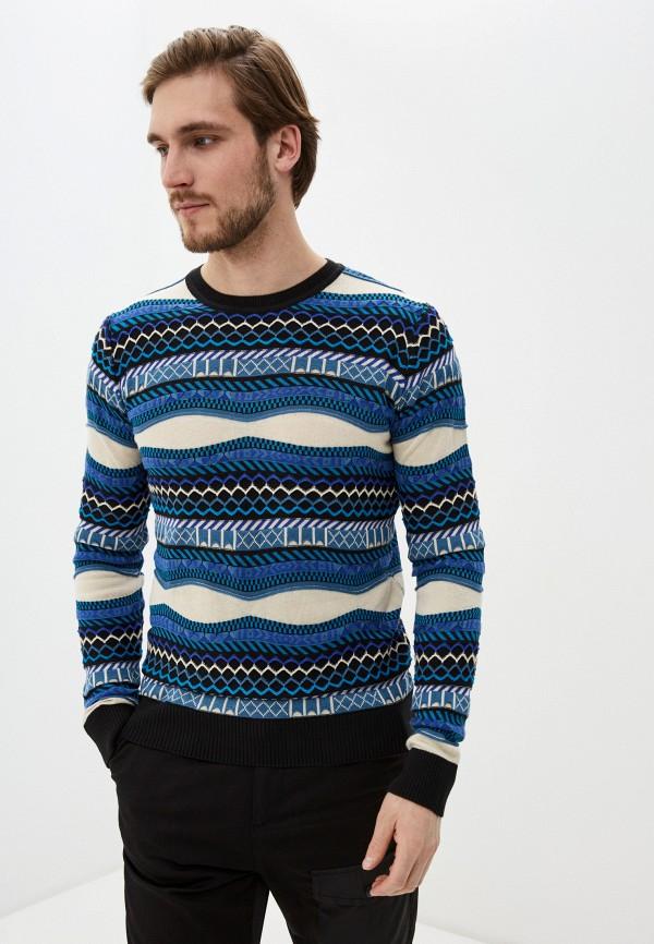 мужской джемпер desigual, синий