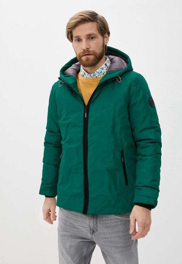 мужская куртка desigual, зеленая