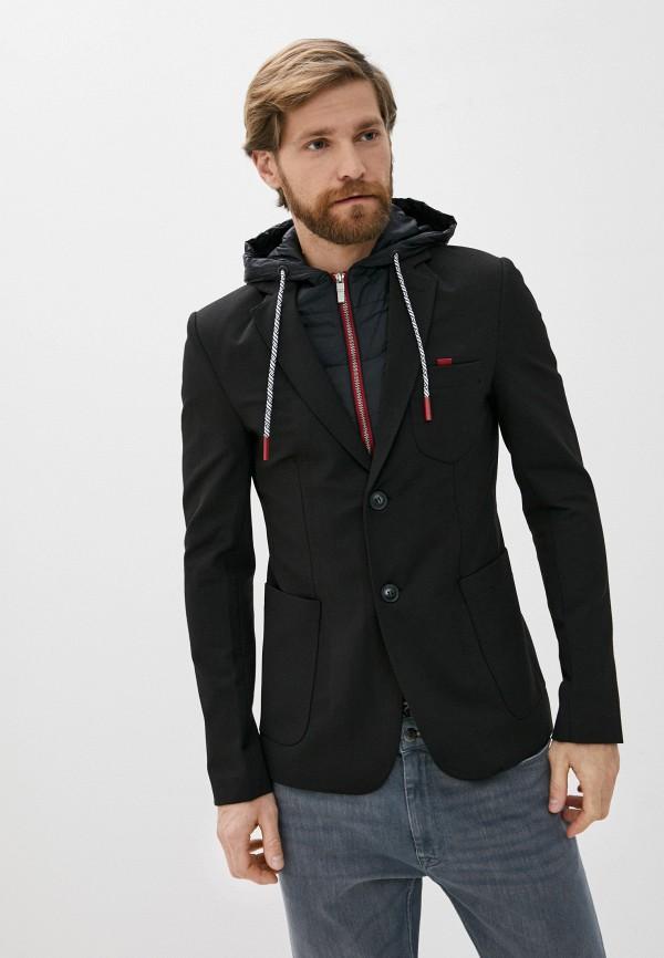 мужской пиджак desigual, черный