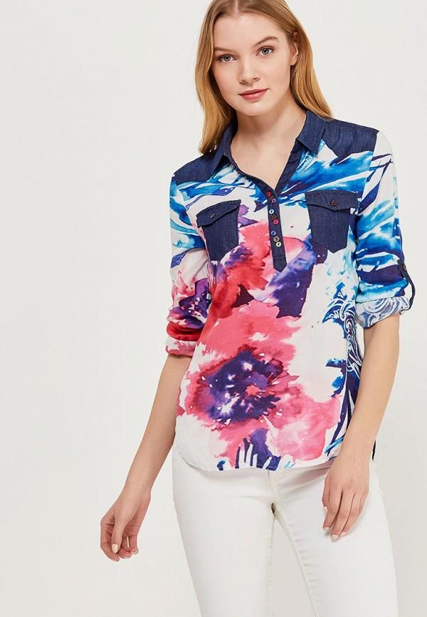 Блуза Desigual Desigual DE002EWABXI5 блуза desigual desigual de002ewula35