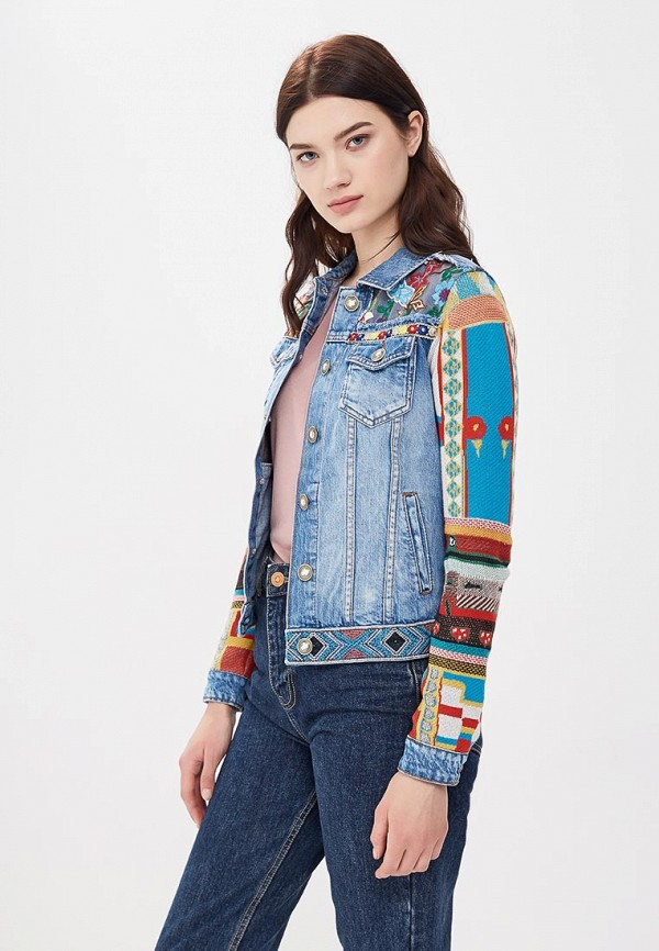 Куртка джинсовая Desigual Desigual DE002EWABXL3 desigual 67j21e6 2000