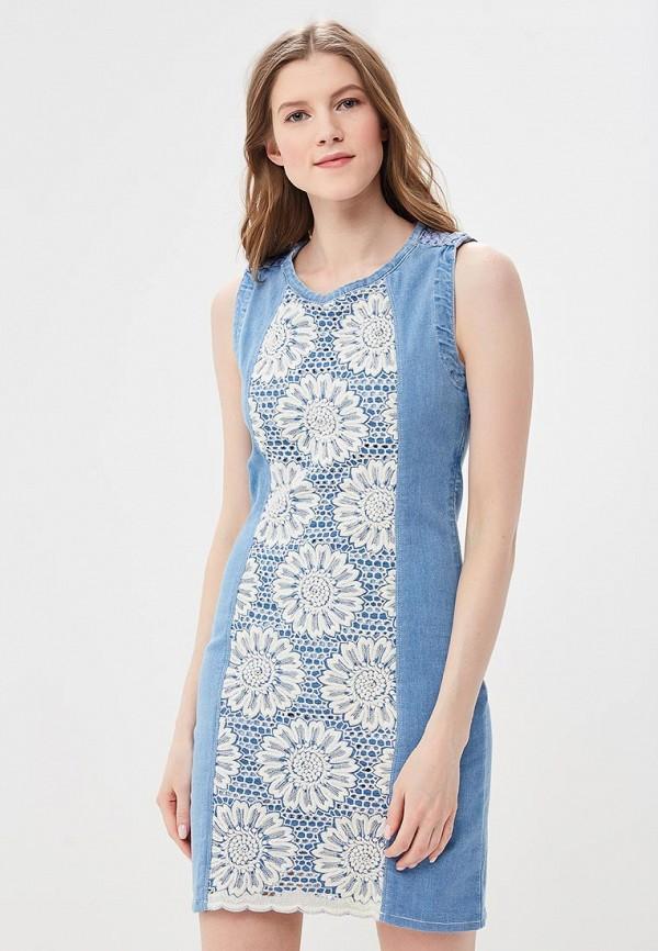 Платье Desigual Desigual DE002EWABXS3 платье desigual 17wwvke2 2000