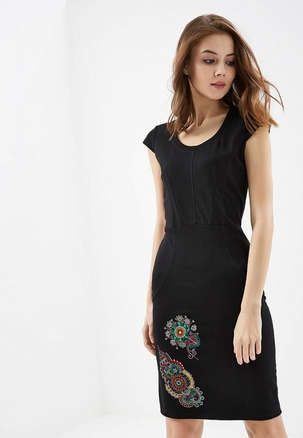 Платье Desigual Desigual DE002EWABXT4 платье desigual 17wwvke2 2000