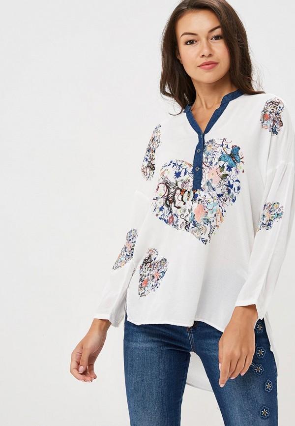 Блуза Desigual Desigual DE002EWCCBT5 desigual 72t2eg6 2000