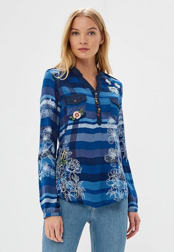 Блуза Desigual Desigual DE002EWCCBT7 блуза desigual desigual de002ewula35
