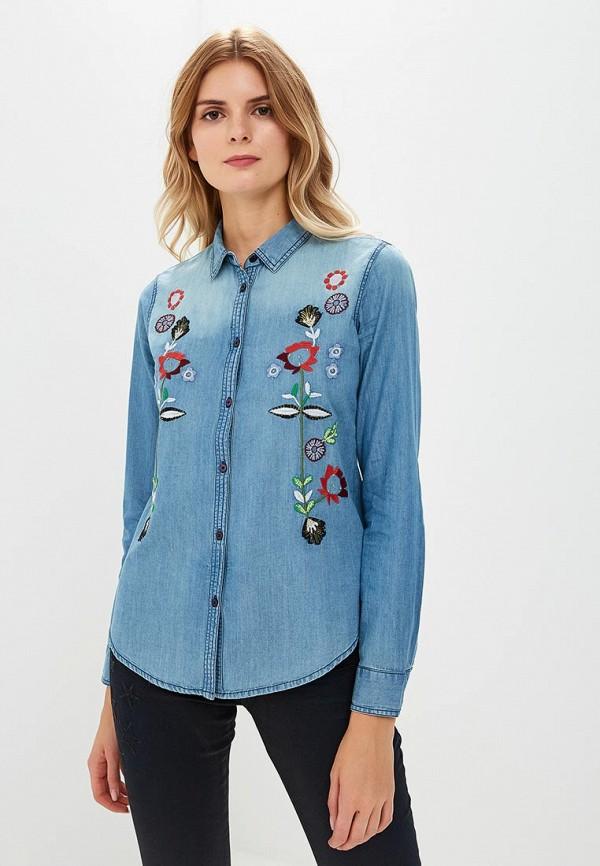 цена на Рубашка джинсовая Desigual Desigual DE002EWCCBU0