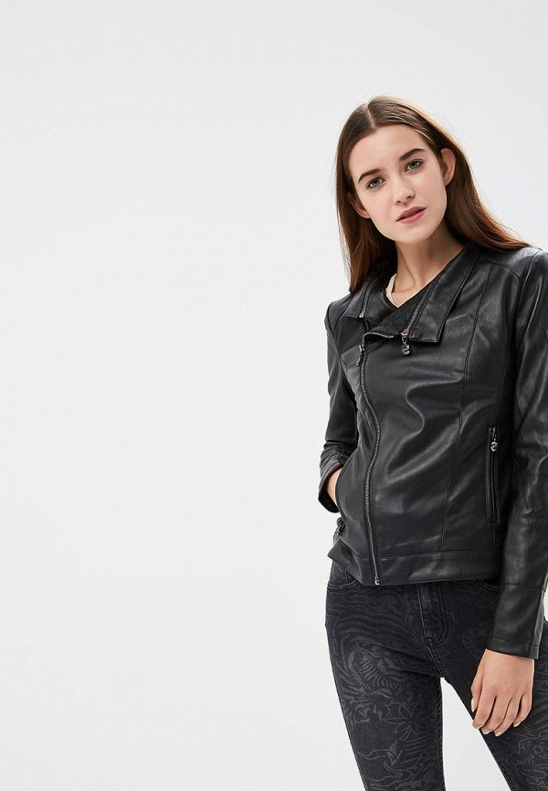 Куртка кожаная Desigual Desigual DE002EWCCCG0 цена 2017