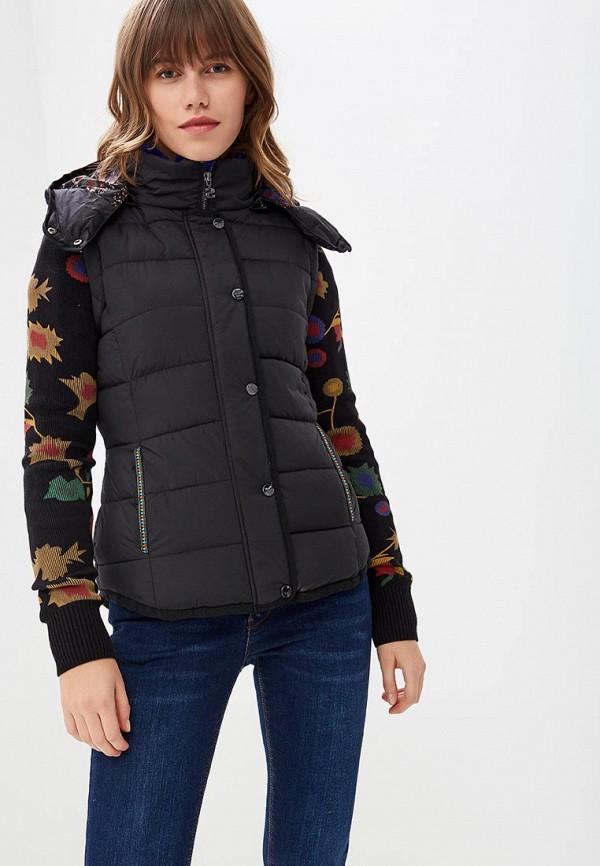 Куртка утепленная Desigual Desigual DE002EWCCCG1 недорго, оригинальная цена